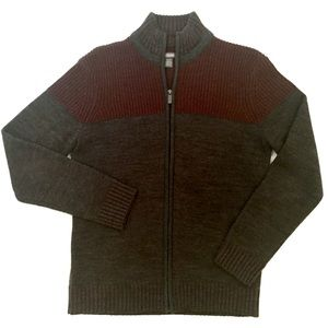 Kenneth Cole Reaction Men's zip up sweater
